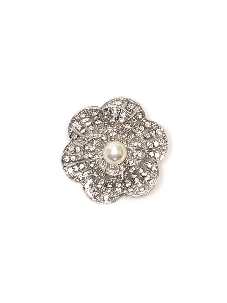 Estelle Brooch | Silver | Accessories