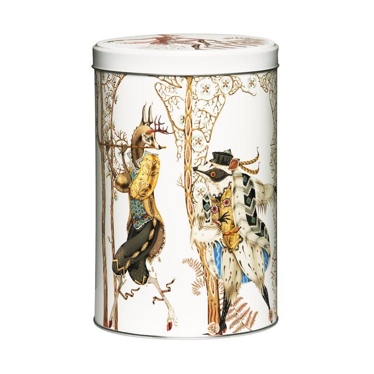 #Tanssi tin metal #box, 12,8x19,5 cm.