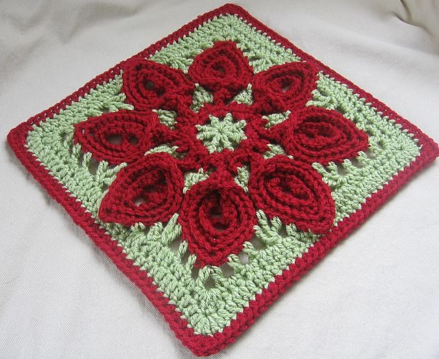 Crochet Patterns Block Afghan : Purifying Puritans 12