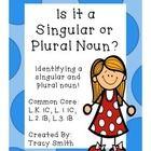 Singular and Plural Nouns  Common Core Aligned:  L.K.1C, L.1.1C,  L.2.1B, L.3.1B  This is an easy to use packet to teach singular and plural nouns!...