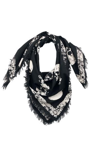 Skull Scarf - Rock Rebel by EMP