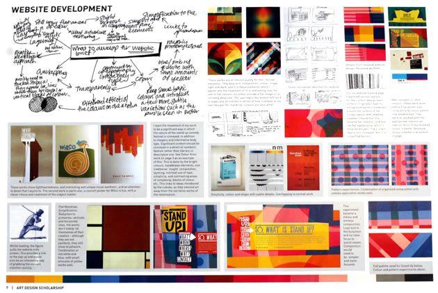NCEA scholarship design folio