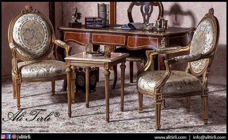 Size özel tasarımlar... | Ali Tırlı İnteriors Furniture | +90 212 297 04 70 #alitirli #berjer #versace #qatar #architecture #home #mimar #burjkhalifa #livingroomdecor #sandalye #chair #textiles #vakko #evtekstili #epengle #homeinterior #interiors #tablo #classic #furniture #evdekorasyonu  #mobilya #perde #holiday #decorative #art #luxury #interiorsdesign