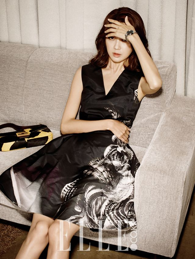 More Of Lee Yo Won In Elle Korea's August 2013 Issue : Couch Kimchi