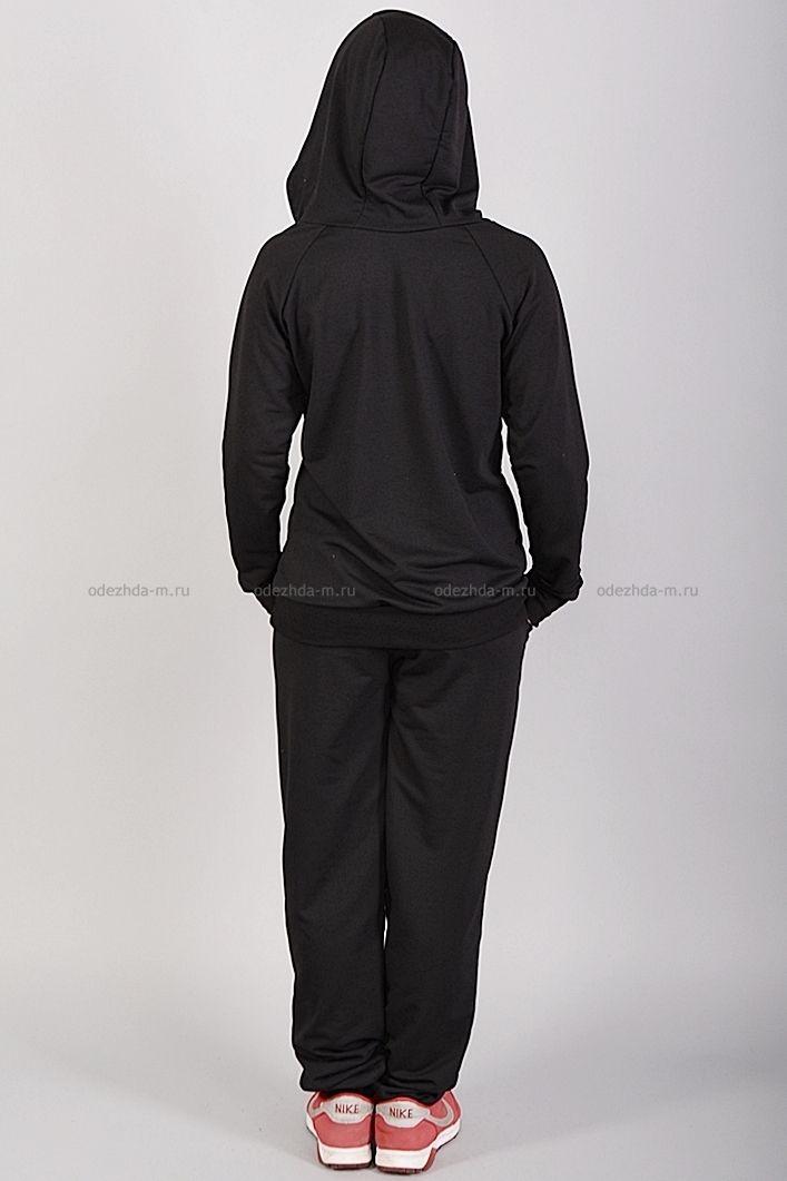 Костюм Б7222  Цена: 910 руб      Стильный костюм состоит из толстовки и брюк.  Толстовка с капюшоном, дополнена молнией.  Состав: 100 % хлопок.  Бренд: Nike.  Размеры: 42, 44, 46, 48, 50     http://odezhda-m.ru/products/kostyum-b7222      #одежда #женщинам #спортивнаяодежда #одеждамаркет