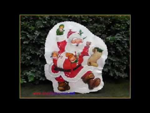 decorazioni Natale sfoglia di dash  decoupage riciclo tovaglia Natale-www.angelapercaso.net