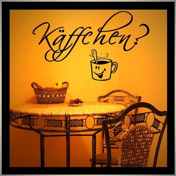 Simple K ffchen Wandtattoo K che Kaffee Wandaufkleber