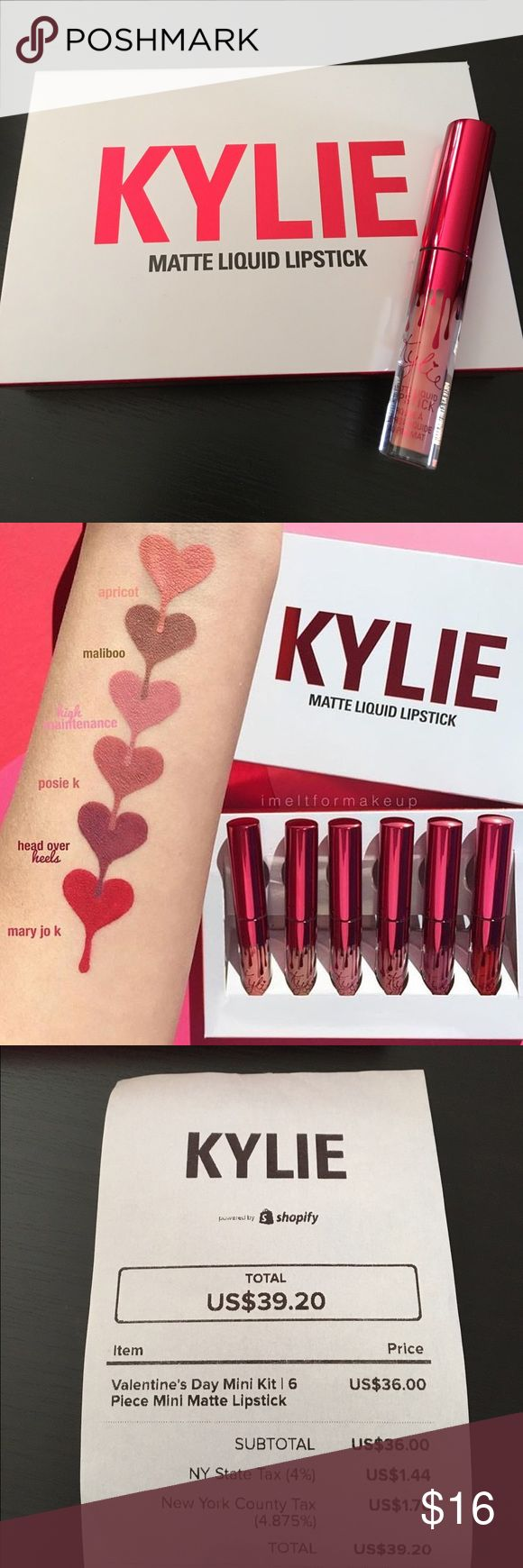KYLIE VALENTINE MINI MATTE APRICOT Apricot ONLY From The