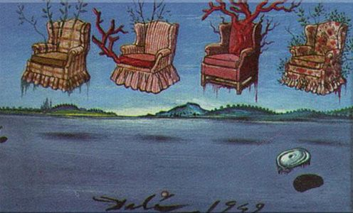 Cztery fotele w niebie, 1949 r.