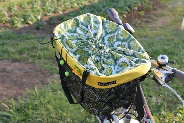 ★ nordahage - wohnen, kochen, selber machen: Tasche für den Fahrradkorb