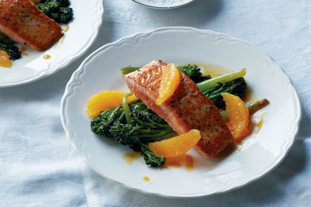 Salmon & Brocolli