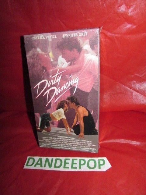 Dirty Dancing New Sealed VHS Movie Patrick Swayze Jennifer Grey #DirtyDancing #PatrickSwayze #JenniferGrey #dandeepop