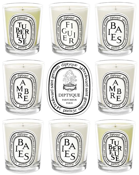 diptyque - the best candles ever...I'd love one of these from Santa!