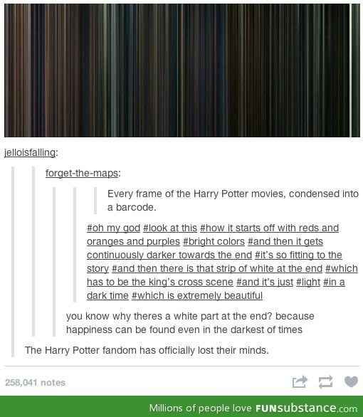 HP-inspired abstract art is a thing that exists. | Tumblr post (click for buzzfeed link)