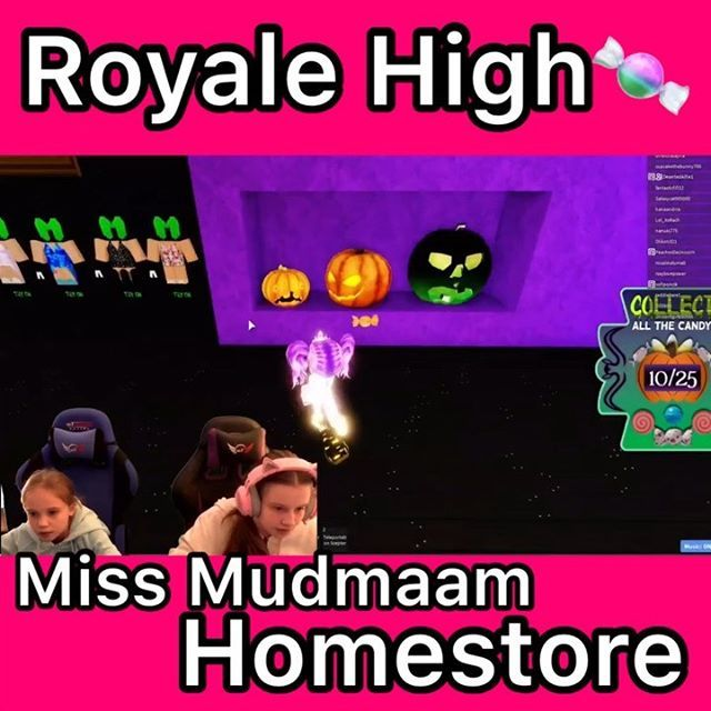 Roblox Royale High Halloween Event And The Candy Hunt Is In Miss