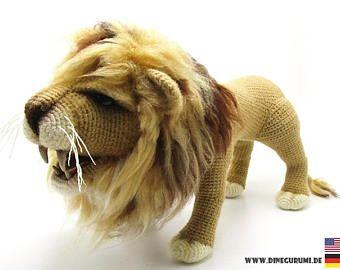 Crochet Amigurumi Lion Patterns : 36 best amigurumi lion images on pinterest crochet animals