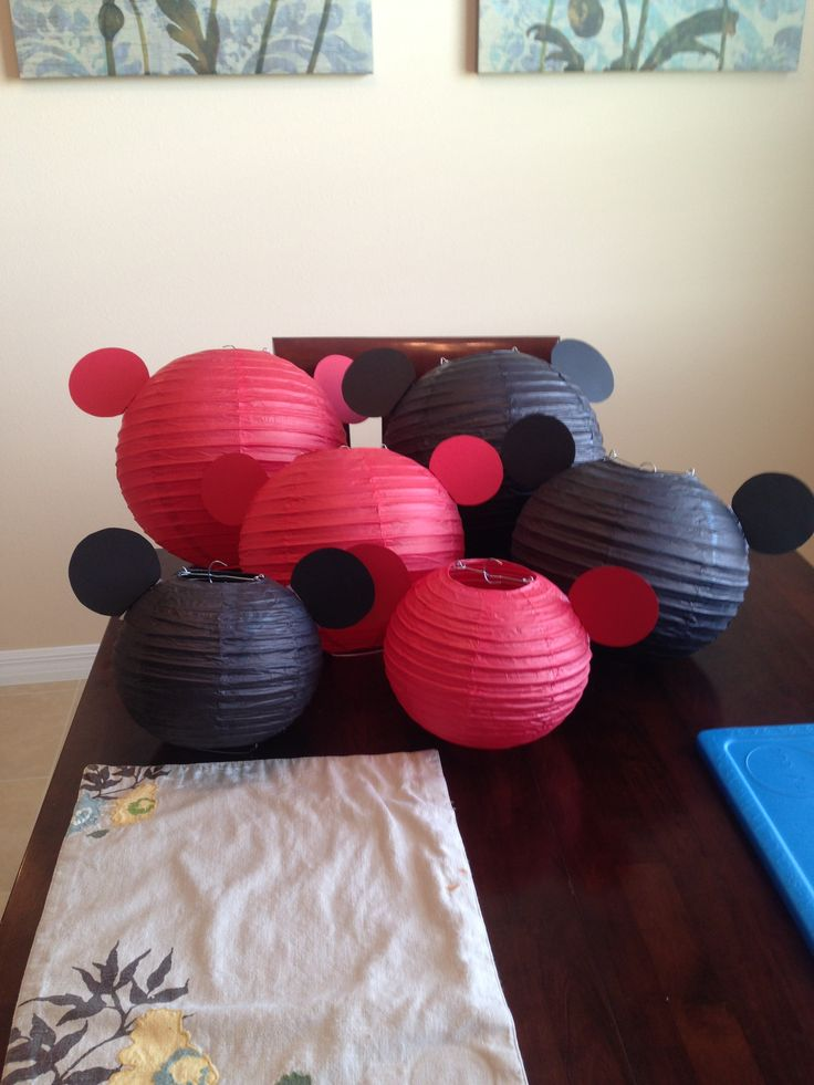 Mickey paper lanterns 260 best Fun with