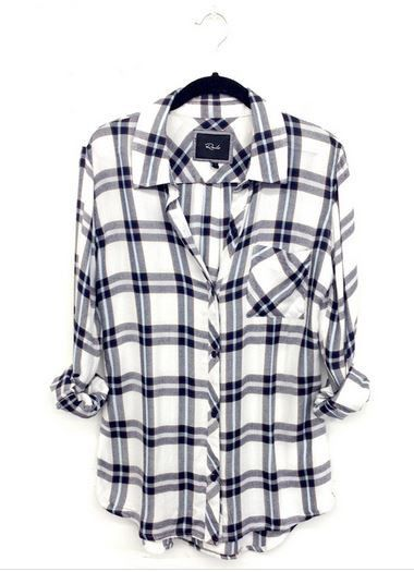 Hunter Marine Buttondown | 27 Boutique Super soft buttondown.  Single lined with one chest pocket. Semi-relaxed fit.