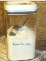 Canning Granny: Dry Mixes in a Jar... Country Pepper Gravy Mix