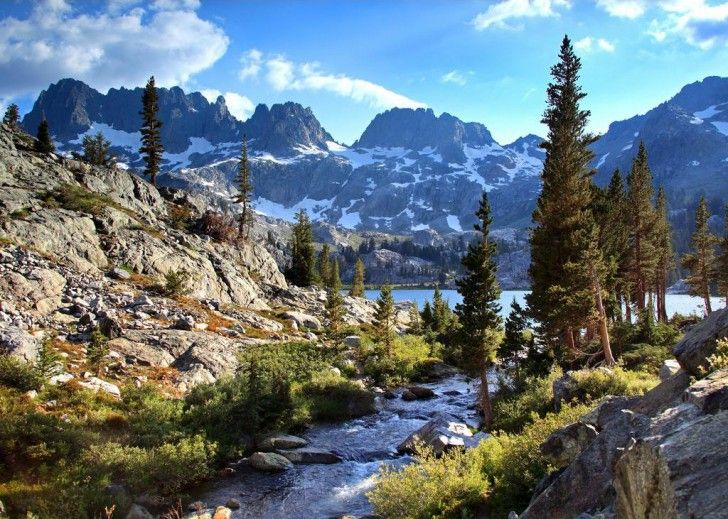 Sierra Nevada Mountains, Ca  Backpacking heaven!