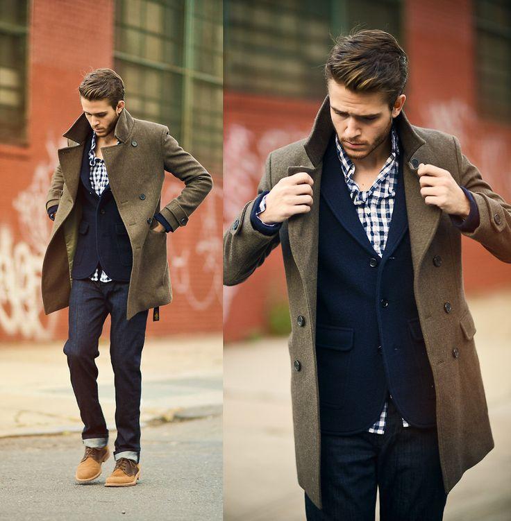 Bekannt Les 25 meilleures idées de la catégorie Veste en jean homme sur  LG32