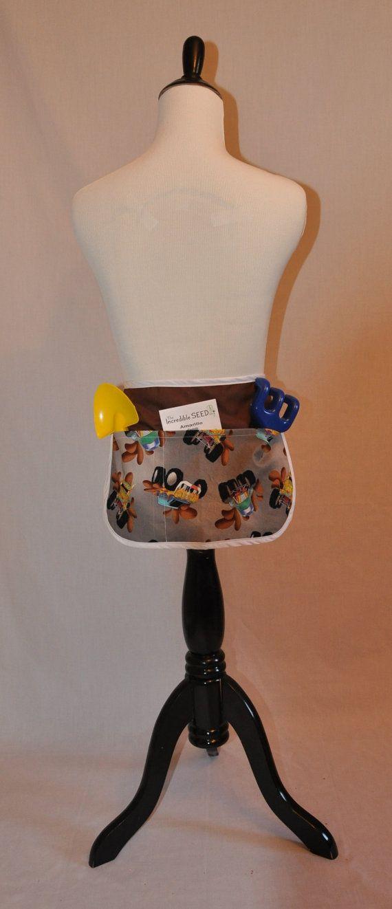 Child's half apron size small by StitchesComeTrue on Etsy