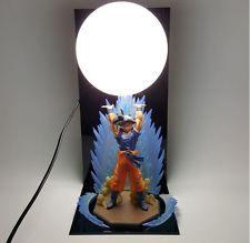 Dragon Ball Z Genki Dama Spirit Bomb Goku Cool Bedside Lamp Free Shipping DBZ
