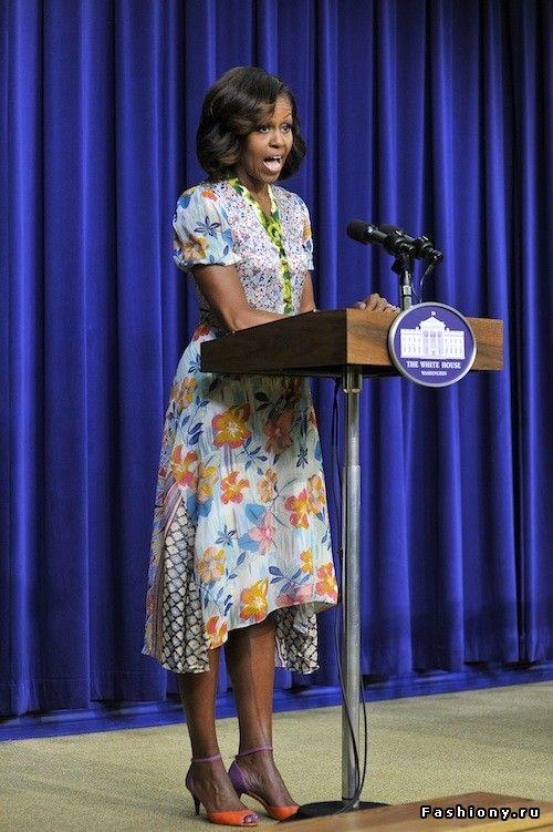 Эволюция стиля Мишель Обамы / одежда стиль мишель обама