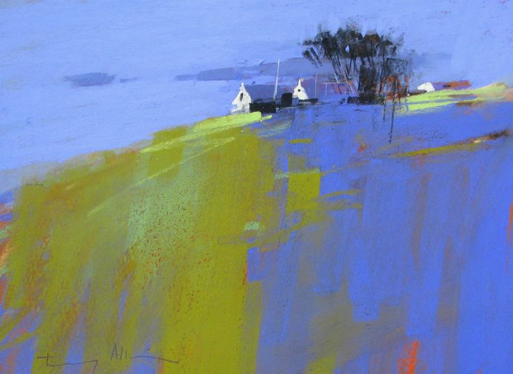 TONY ALLAIN dpanz,psa : colour and light: Watercolour Paintings, Art Inspiration, Landscape Paintings, Pastel Paintings, Lihou Islands, Tony Allain, Pastel Art Landscape, Abstract Landscape, Abstract Paintings