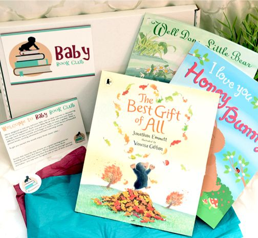 Baby book subscription boxes for newborns and toddlers - an ideal unique gift for babies and new parents