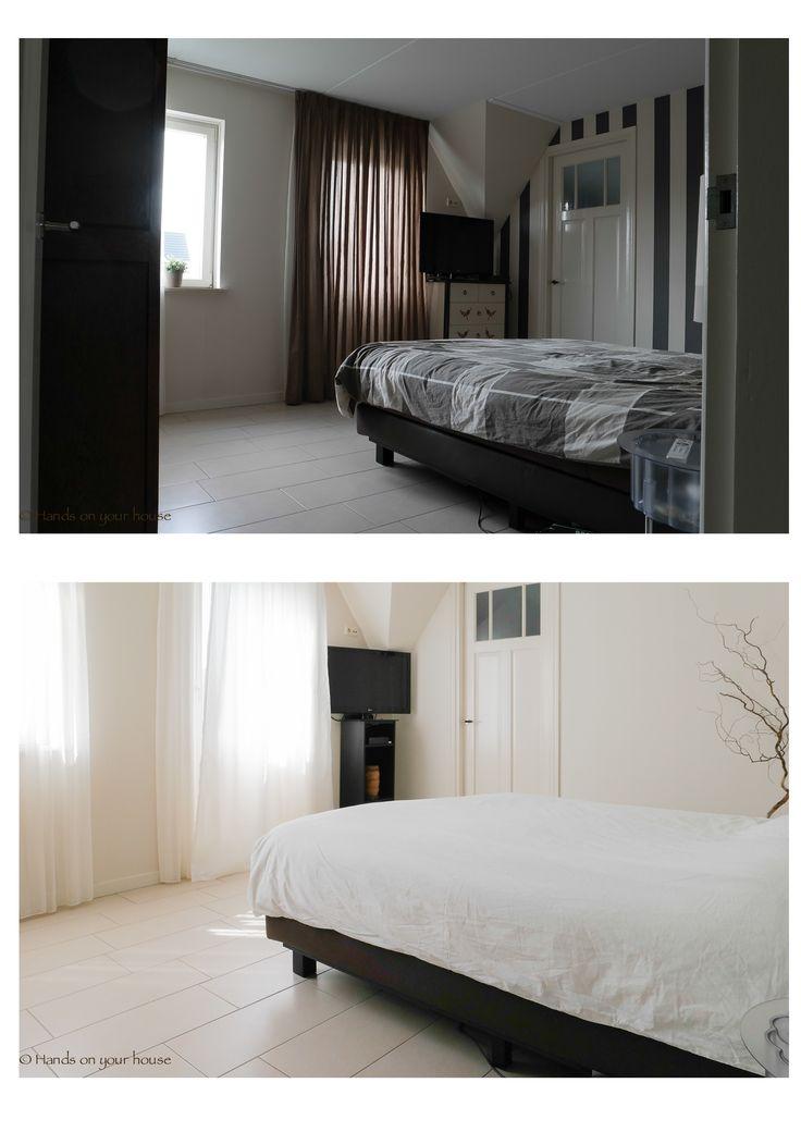 Voor en na verkoopstyling slaapkamer Meteren