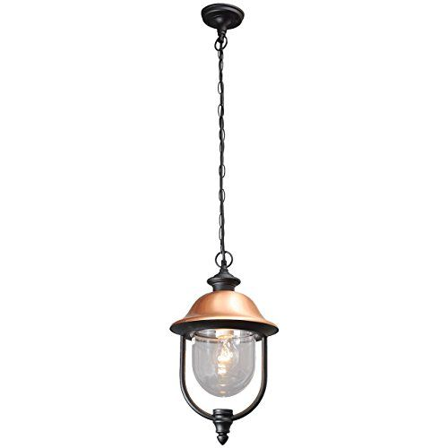 Outdoor pendant light black and copper colour hanging lantern classic and rustic style for a porch 1*95W E27 MW-Light http://www.amazon.co.uk/dp/B017HHSXVQ/ref=cm_sw_r_pi_dp_a7D6wb0WZBWHY