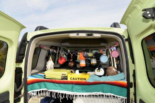 カングーをカスタムしてキャンプで車中泊 Diyer S リノベと暮らしとdiy 車中泊 カングー キャンプ 車