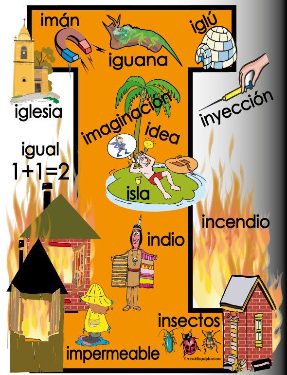 I de iguana, imán...