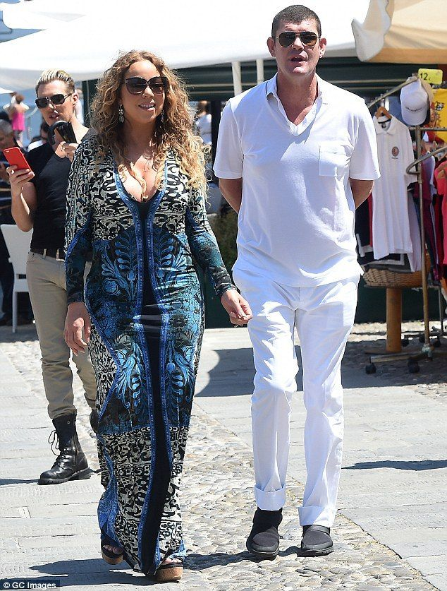 Is Mariah Carey, 45, pregnant with James Packer's baby? - http://www.nollywoodfreaks.com/is-mariah-carey-45-pregnant-with-james-packers-baby/