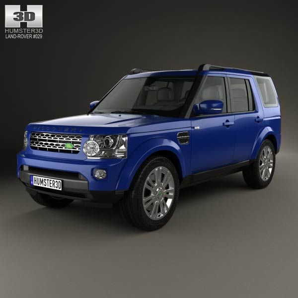 Land Rover Range Rover L405 2014 3d Model From Humster3d: Land Rover Discovery 2014 3D Model
