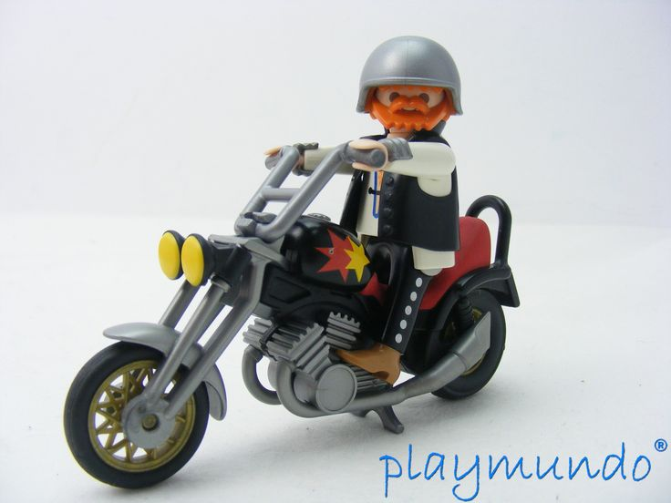 163 best ciudad images on pinterest playmobil hospitals - Moto playmobile ...