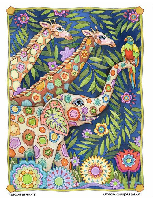 203 best Elephant Coloured Pages images on Pinterest Coloring