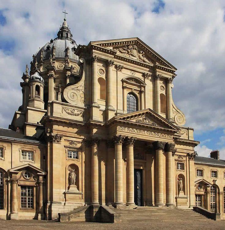 Francois Mansart, Jacques le Mercier (projekt zbiorowy kilku architektów) kościół Val de Grace w Paryżu