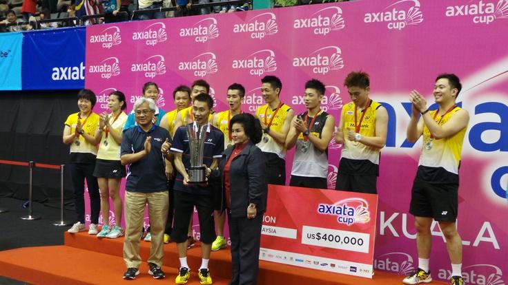 Axiata Cup 2013 Champions