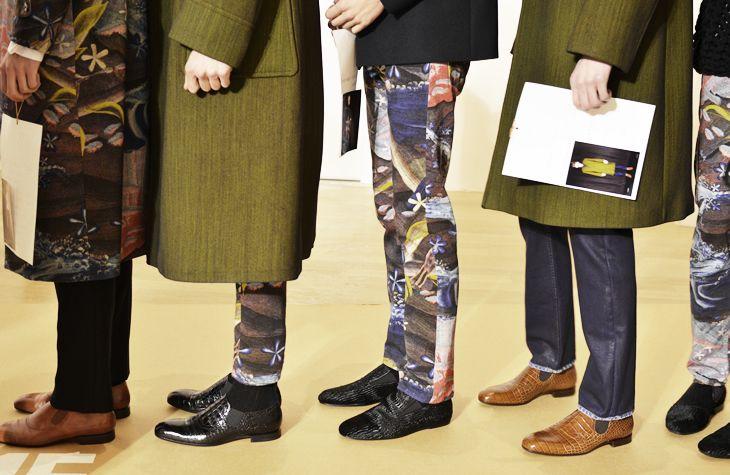 #shoes #prints #streetstyle #modernmen #runway