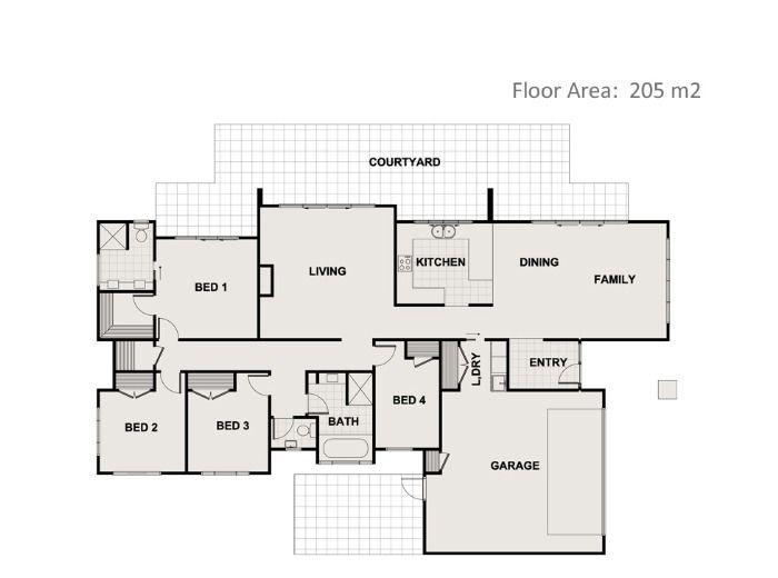 1000 Images About Floor Plans 200m2 250m2 On Pinterest