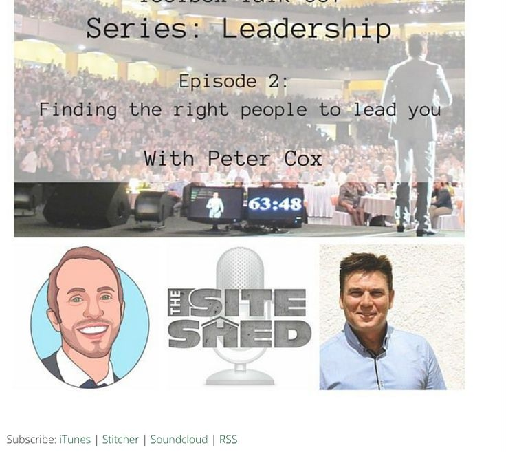 Podcast with The Tradie Web Guy, Matt Jones and Peter Cox on Finding The Right Person To Lead You.