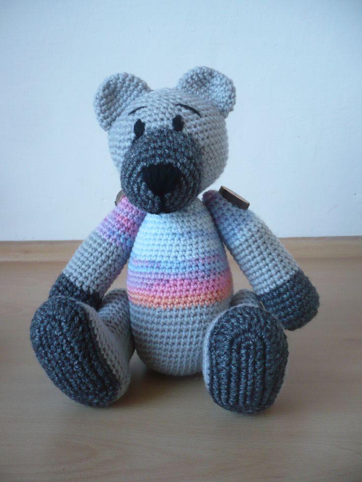 teddy bear - háčkovaný medvídek