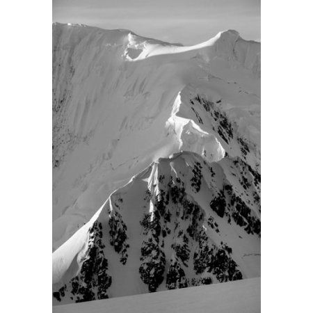 Mountain peaks along Neumayer Channel Anvers Island Antarctica Canvas Art - Paul Souders DanitaDelimont (18 x 24)