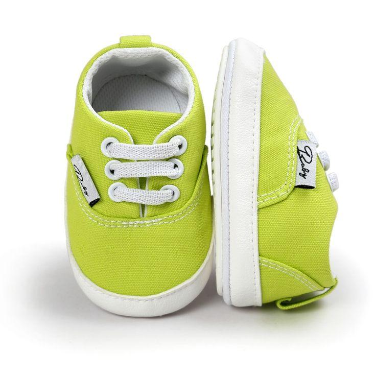 Spring Autumn Baby Newborn Girl Boy Soft Sole Anti-skid Toddler Infant Sneaker Shoes Casual Prewalker