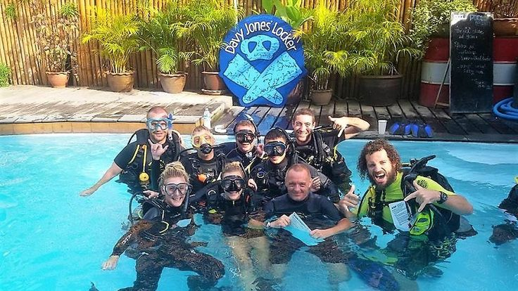 PADI Instructor Development Course (IDC). At Davy Jones Locker we offer a variety of internships and packages that train students of all abilities up to Diving Instructor level. Find out more at our website www.djldiving.com