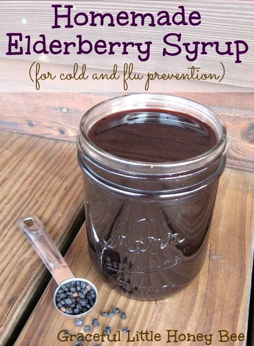 This homemade elderberry syrup is full of immune boosting antioxidants and can be taken daily for cold and flu prevention.