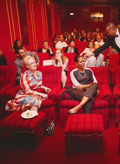 Meryl Streep & Michelle Obama