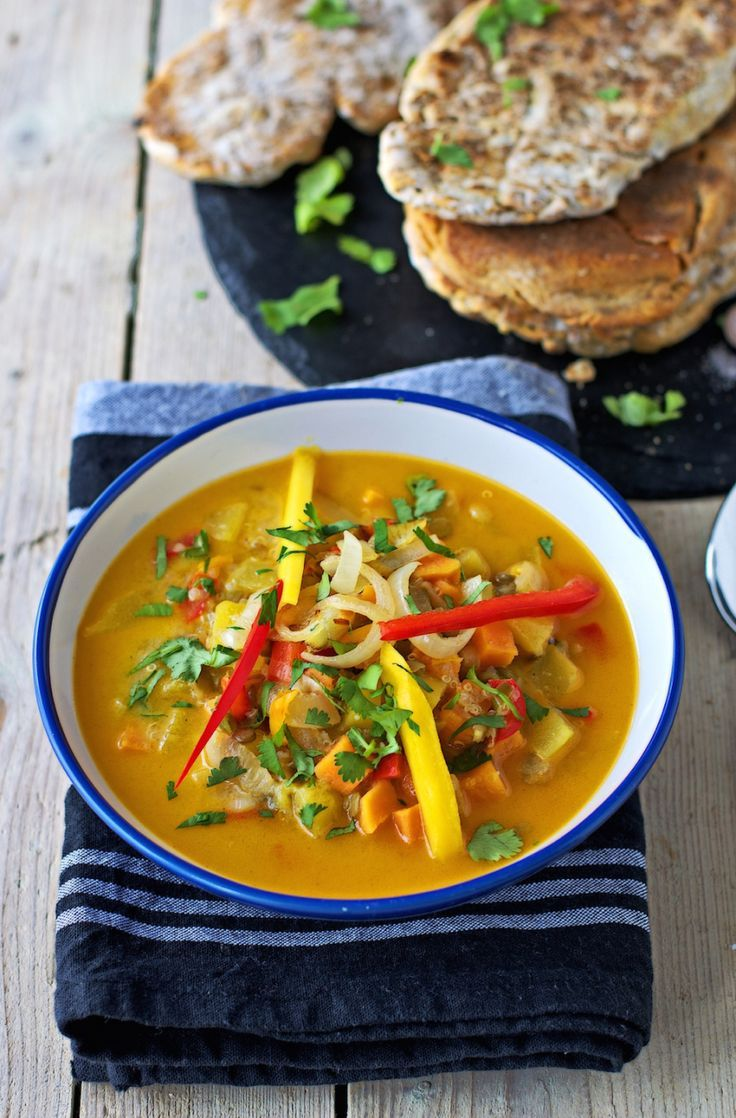 ... Soup it up! on Pinterest | Homemade naan bread, Stew and Cabbage soup
